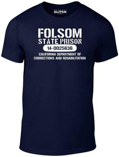 Department Of Corrections, Cool T Shirts, Awesome, Mens Tops, Women, Fashion, Moda, Women's