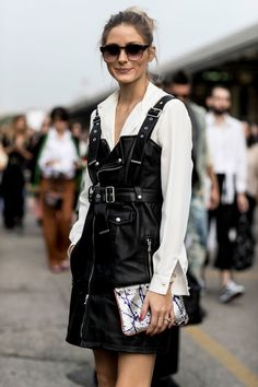 The Street Style at Milan Fashion Week May Be the Best Yet Day 3 Olivia Palermo Printemps Street Style, Milan Fashion Week Street Style, Spring Street Style, Milan Fashion Weeks, Cool Street Fashion, Street Style Looks, Looks Style, Look Fashion, Fashion Outfits