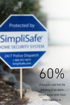 SimpliSafe Yard Signs and Window Decals come with every system. Wireless Home Security Systems, Security Tips, Safety And Security, Home Protection, Home Safety, Beautiful Morning, Alarm System, Window Decals, Fun Cooking