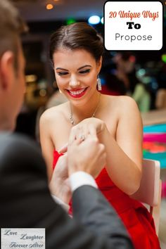 These unique ways to propose will get you a ... YES.. I love number #5
