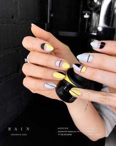 Ideas For Nails Yellow Design Nailart – Adela Davis Ideas For Nails Yellow Design Nailart 23 Great Yellow Nail Art Designs 2019 1 Yellow Nails Design, Yellow Nail Art, Black Nail Art, Black Nails, Minimalist Nails, Splatter Nails, Nails Polish, Nail Swag, Super Nails