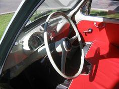 1963 Fiat Multipla 600 Van Interior