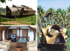 Indian house boats