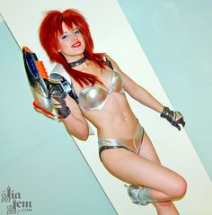 Jia Jem as Kei from The Dirty Pair