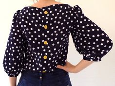 Tilly and the Buttons: Sewing Bee Souvenir Blouse