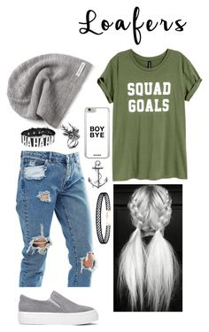 """""""Untitled #378"""" by aya-morris95 on Polyvore featuring ASOS, Converse, Mulberry, LULUS and loafers"""