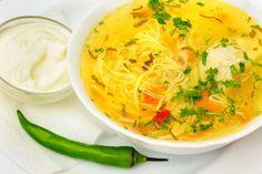Ciorbă de potroace • eCuisine Thai Red Curry, Bacon, Ethnic Recipes, Soups, Chowders, Soup