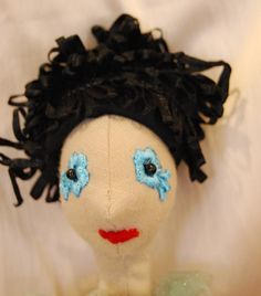 Funny black hair for the doll by Rongylady on Etsy Hairdresser, Black Hair, Etsy Shop, Dolls, Trending Outfits, Unique Jewelry, Funny, Handmade Gifts, Vintage