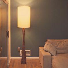 Vintage Wooden Floor Lamps
