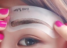 0.59$ (Buy here: http://alipromo.com/redirect/product/olggsvsyvirrjo72hvdqvl2ak2td7iz7/32304172601/en ) 3 styles reusable Eyebrow stencil pencil for eyebrows enhancer drawing guide card brow template DIY make up tools for just 0.59$