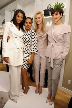 """""""Scandal"""" fans rejoice! The Limited is rolling out another collection inspired by the hit TV show's stylish heroine, Olivia Pope. - via The Huffington Post -kw's krew"""
