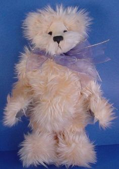 Annette Funicello Pink Bear With White Bow On Head To Suit The PeopleS Convenience Dolls & Bears