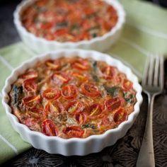 Crustless Mini Veggie Quiches HealthyAperture.com