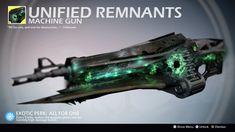 Unified Remnants (Exotic Machine Gun Concept) by on DeviantArt Anime Weapons, Sci Fi Weapons, Weapon Concept Art, Fantasy Weapons, Destiny Video Game, Destiny Comic, Destiny Bungie, Hand Cannon, Art Jokes