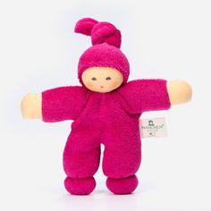 Baby Püppchen Pimpel beere aus Bio Baumwolle von Nanchen Natur | Echtkind
