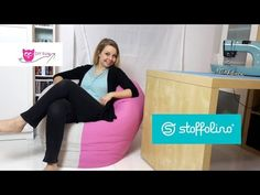 Sitzsack nähen - DIY Eule & Stoffolino.de - YouTube