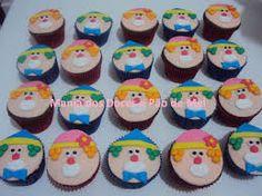 Resultado de imagem para cupcake tema circo