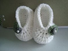 Basic Baby Booties: free pattern