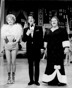 Lucille Ball with Dean Martin and Kate Smith, 1966