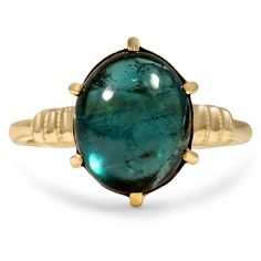 The Laverna Ring from Brilliant Earth~1930's tourmaline