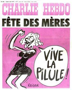 Si <em>Charlie Hebdo </em>incarne la liberté d'expression, le journal soutient notamment la cause féministe. En Une de certaines éditions...