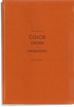 Color. Order. Harmony.