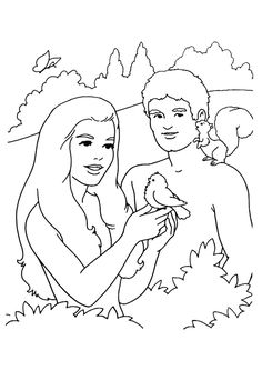 25 Best Adam And Eve Coloring Pages For Your Toddler @ http://www.momjunction.com/print-coloring-image/?pageid=96268&print=2014/09/The-adam-and-eve