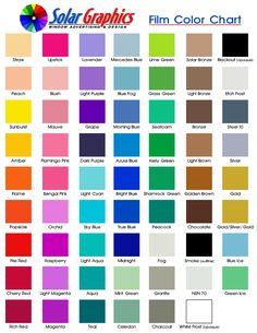 Printable Film Color Chart 2.jpg (837×1083)