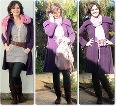 blog vitrine @ugust@ LOOKS   por leila diniz: look RR (roxo e rosa) + maritacas + dia do amigo + DEUS.