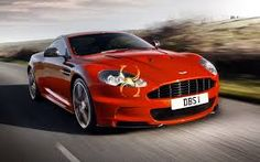 Sizzling Red Aston Martin DBS! Wonderful!