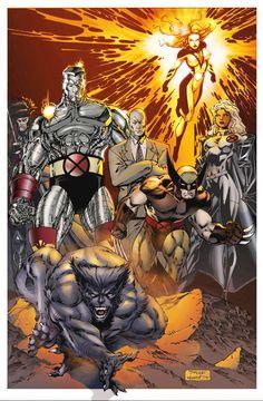 Unpublished Jim Lee X-Men Colored by Rproaudio on DeviantArt