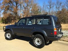 1991 Bryan The Cruiser ( kids name for it ) Stock Hunting, Fishing and mostly gravel road trips with the dog and kids Well the. Toyota Land Cruiser, Land Cruiser Fj80, Toyota Lc, Toyota Trucks, Lexus Lx450, Carros Toyota, Fun Brain, Dogs And Kids, Pickup Trucks