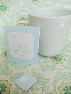 My Cotton Creations: Mother's Day Printable