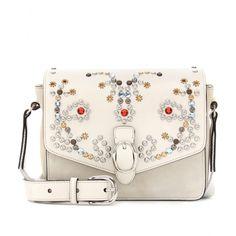 Isabel Marant | Elvis Leather and Suede shoulder bag Lesly | Mytheresa