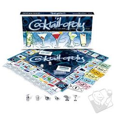 Cocktail-opoly isn't the same game you played as a kid…or is it? #wineenthusiast