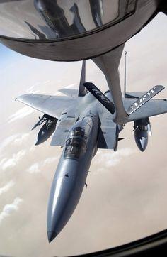 F-15 Eagle refueling