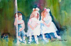 Original Watercolor Paintings by artist Billie f. Mathis
