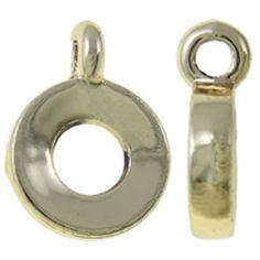 Echt vergoldet - 'never fade' abriebgeschützte Qualität. 0,30 € pro Stk. http://www.perlensucht.at/index.php/artikeldetails/category/y-perlen/article/collierschlaufen-anhaengerhalter-vergoldet-11-mm.html