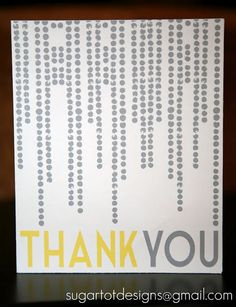 Thank You Note Printables {Free Printable}