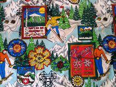 Bavarian Ski Fabric