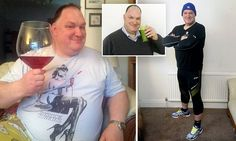 Thirty-stone dad sheds a THIRD of his bodyweight on juice diet www.dinahdowell.com