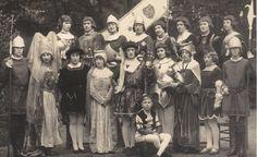 Renaissance Players in Superlative Costumes, c. 1920s