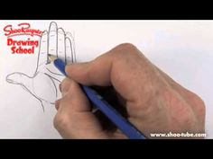 How to draw hands - YouTube
