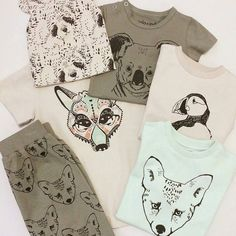 Buenos días!!! no pueden ser más bonitos estos prints de @igloindi un éxito de colección  por su diseño  por su comodidad  por su algodón tan suave...  #nins #ninsmanresa #igloindi #iceland #reykjavik #organiccotton #kidswear #ootd #nordicdesign #childrensfashion #printdesign #print #cotton #cute #moda #modainfantil