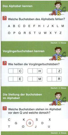Lernkarten Deutsch