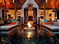 Nashville's Most Exotic Home - Nashville Lifestyles Exotic Homes, Luxury Homes, Swimming Pool House, Nashville, Beautiful Pools, Fire Pit Backyard, My Dream Home, Dream Homes, Cool Pools
