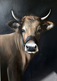 Animal Paintings, Animal Drawings, Cow Pictures, Cow Painting, Farm Art, Cute Cows, Cow Art, Farm Animals, Cute Animals