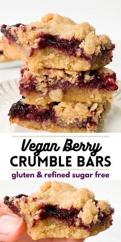 Vegan Baking Recipes, Healthy Vegan Desserts, Vegan Dessert Recipes, Vegan Treats, Healthy Baking, Whole Food Recipes, Healthy Vegan Recipes, Dessert Healthy, Healthy Sweet Treats