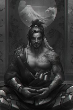 hanzo, jialin Z on ArtStation at https://www.artstation.com/artwork/16y38