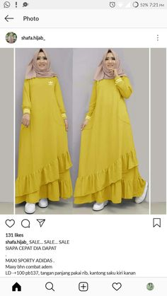 Trendy Sport Femme Tenue Ideas Source by guertbough dresses ideas Islamic Fashion, Muslim Fashion, Modest Fashion, Hijab Style Dress, Muslim Dress, Latest African Fashion Dresses, Abaya Fashion, Mode Hijab, African Dress